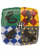 Ballon en aluminium carré blasons maisons Poudlard Harry Potter™ 43 x 43 cm