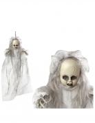 Décoration à suspendre poupon fantôme 50 cm