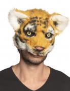 Masque tigre peluche adulte