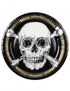 Vous aimerez aussi : 6 Assiettes en carton Pirate Jolly Roger 23 cm
