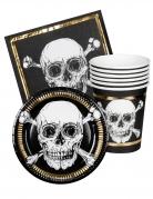 Vous aimerez aussi : Kit vaisselle 6 personnes Pirate Jolly Roger