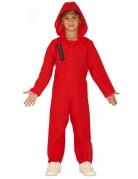 Vous aimerez aussi : Déguisement combinaison rouge voleur enfant