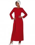 Déguisement servante rouge femme