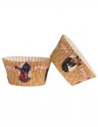 25 Moules à cupcakes en papier Ladybug™ 5 x 3 cm
