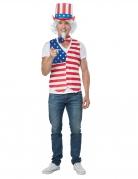 Déguisement homme patriote Américain