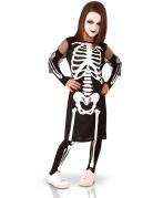 Déguisement complet squelette fille