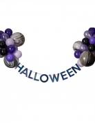 Vous aimerez aussi : Kit guirlande halloween avec ballons noirs et violets