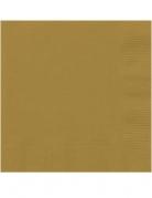 Vous aimerez aussi : 20 Petites serviettes en papier dorées 25 x 25 cm
