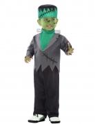 Déguisement combinaison monstre artificiel vert bébé