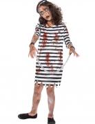Déguisement prisonnière enchaînée zombie fille