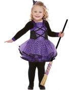 Vous aimerez aussi : Déguisement jolie sorcière violette étoilée fille