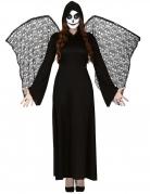 Vous aimerez aussi : Déguisement ange de la mort ailes dentelles femme