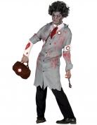 Déguisement docteur rétro zombie homme