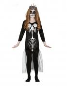 Déguisement squelette sirène fille