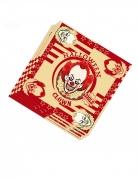 20 Serviettes en papier clown assassin 33 x 33 cm