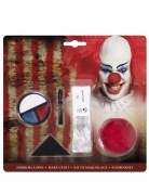 Kit maquillage clown effrayant