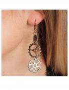 Vous aimerez aussi : Boucles d'oreilles steampunk engrenages adulte