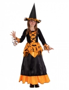 Vous aimerez aussi : Déguisement sorcière chauve-souris avec chapeau noir et orange fille