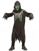 Déguisement la faucheuse noire et verte enfant