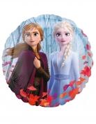 Ballon aluminium rond La Reine des Neiges 2™ 43 cm