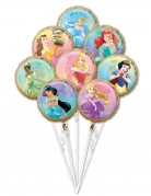 Bouquet 8 ballons aluminium Princesses Disney™