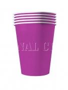 Vous aimerez aussi : 20 Gobelets américains carton recyclable violets 53cl