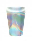 Vous aimerez aussi : 20 Gobelets américains carton recyclable rainbow iridescent 53 cl