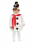 Déguisement bonhomme de neige chapeau pingouin bébé