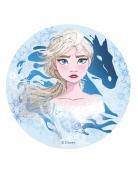 Disque en azyme La Reine des Neiges 2™ Elsa 20 cm