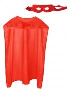 Kit super héros rouge adulte