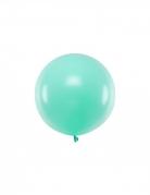 Ballon en latex géant menthe 60 cm