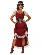 Vous aimerez aussi : Déguisement steampunk sexy rouge femme