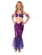 Déguisement sirène violet fille