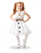 Déguisement Olaf animé La Reine des Neiges 2™ luxe fille