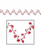 Vous aimerez aussi : Guirlande en plastique modulable cœurs rouges 7 m