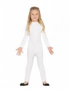 Combinaison justaucorps blanc enfant