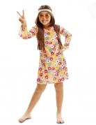 Déguisement hippie fleurie fille
