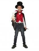 Kit déguisement avec accessoires magicien enfant