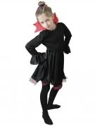 Vous aimerez aussi : Déguisement vampiresse noire avec col rouge fille