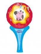 Ballon aluminium Miss Peppa Pig™ 15 x 30 cm