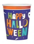 8 Gobelets en carton Halloween friends 250 ml