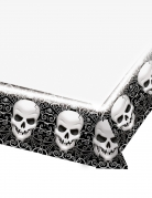 Nappe en plastique Tête de mort Halloween 137 x 259 cm