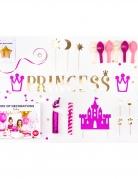 Kit décoration anniversaire princesse 31 pièces