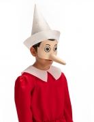 Demi masque latex Pinocchio™ adulte
