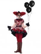 Déguisement vilain clown fille