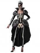 Déguisement reine squelette femme