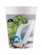 8 Gobelets en carton Avengers™ 200 ml