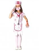 Déguisement infirmière zombie blanche fille