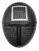 Masque en plastique gardien de jeu symbole carré adulte