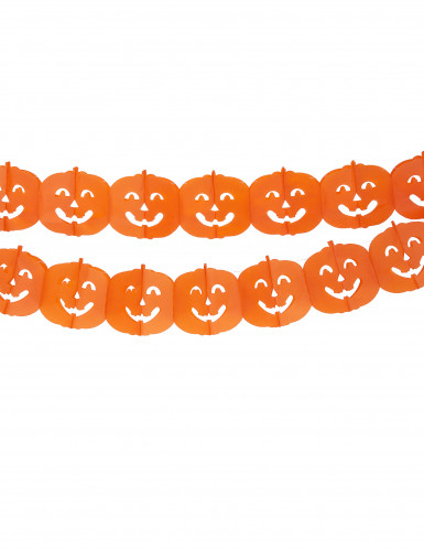 Guirlande citrouille Halloween 4 m
